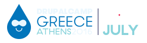 DrupalCamp Greece Athens 2016 small logo